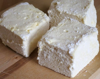 Passion Fruit Marshmallows - 1 dozen Gourmet homemade marshmallows - Parcha
