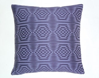 "Verner Panton ""Opitk"" by Maharam - Mid-century Modern design accent pillow 17"" x 17"" feather/down insert included"