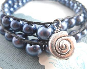 Bracelet - snail - Bead Bracelet beads