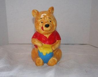 vintage Winnie the Pooh bank/made in Japan Winnie the Pooh ceramic bank/vintage Disney bank
