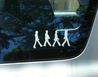 The Beatles Abbey Road Vinyl decal