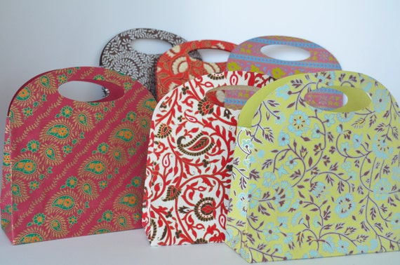 Small Gift Bag, Favor Gift Bag, Indian Wedding Favor, Holiday gift bag ...