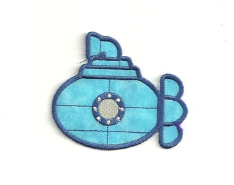 Submarine Patch, Any Color! Custom Made!