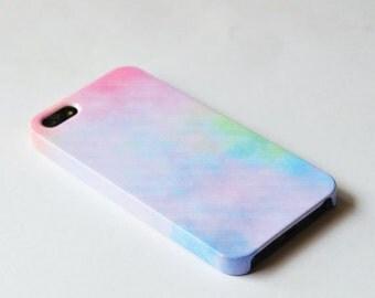 Pastel iPhone 6 case , sweet iPhone case , cute iPhone 5s case, Hard plastic case , iPhone 4s cover