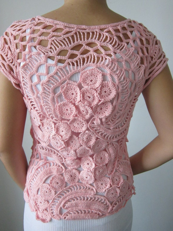 Freeform Crochet Blouse 93