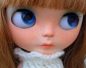 FINAL PRICE!! Neela, OOAK Custom Blythe doll Beatrice Vest by SamPuppen