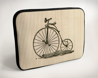 Bicycle - Velocipede - Lines - Laptop Case - Laptop Bag - Laptop Sleeve
