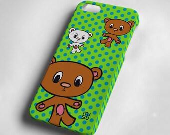 Bear - iPhone 5 Case - iPhone 5 Cover - Plastic IP5 Case