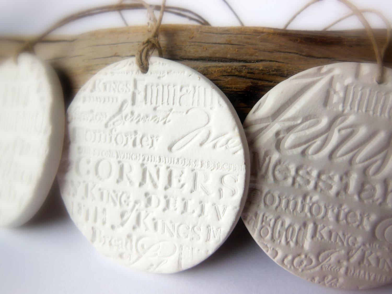Ceramic christmas ornaments -  Zoom