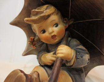 Vintage Large Hummel Umbrella Girl TMK 4