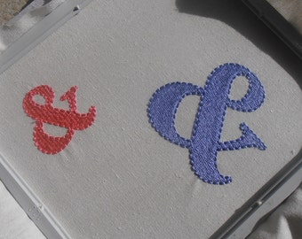 And ? - AMPERSAND ~ Machine Embroidery Design - Symbol - 2 sizes - Instant Download