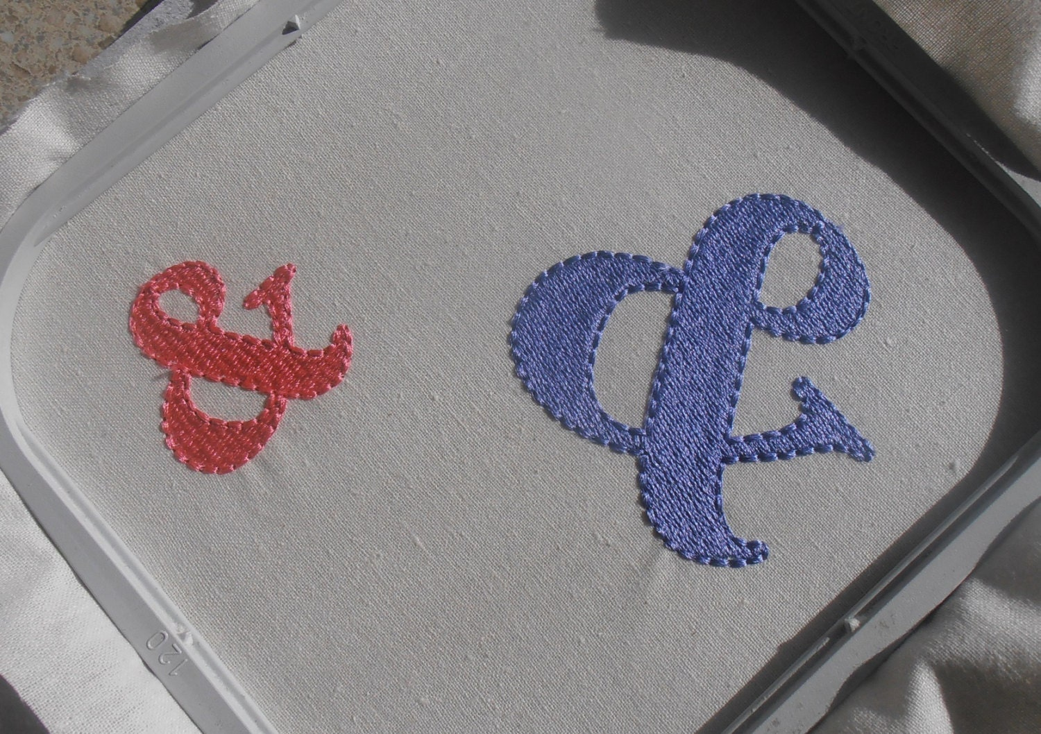And ampersand machine embroidery design symbol 2 for Ampersand decoration etsy