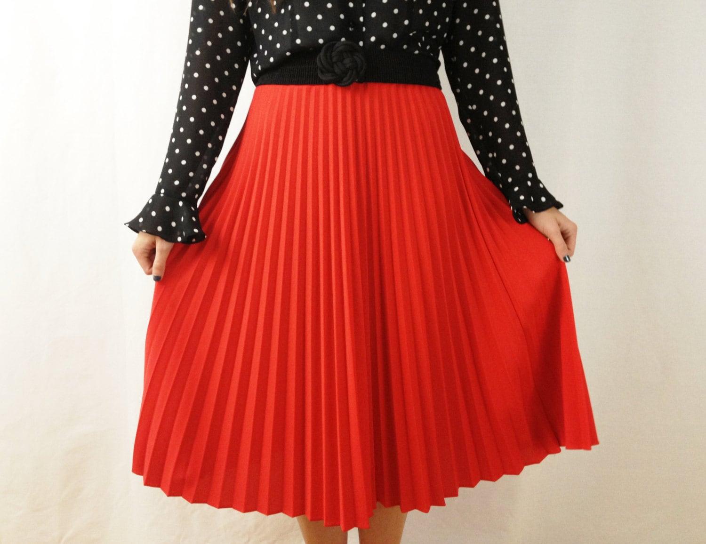 1960s pleated skirt accordion pleated skirt midi skirt