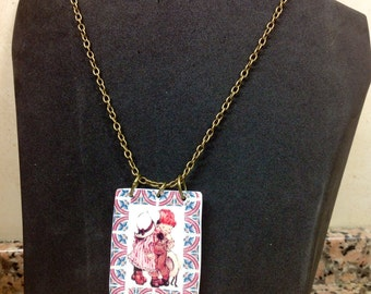 "Necklace ""Sarah Kay"" VALENTINE'S DAY."