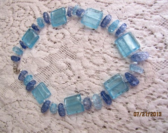 Blue Sparkles Necklace