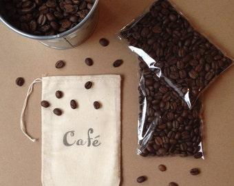 Muslin Coffee Bags - set of 10