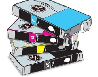 Inkedibles™ Multi-Pack Edible Ink Refillable Cartridges for Epson T200XL