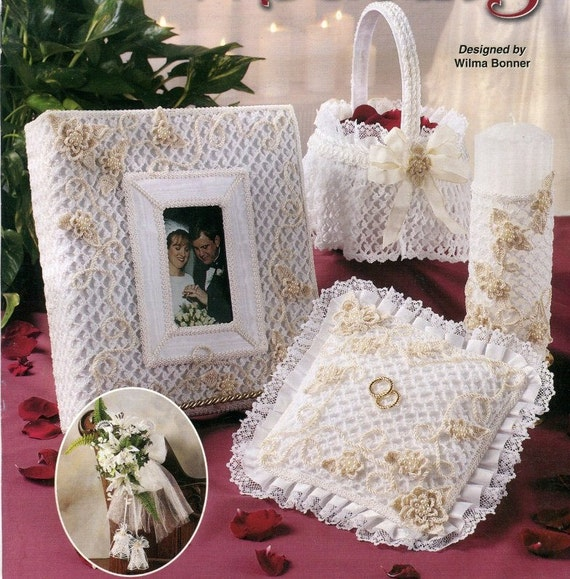 Annies Crochet Patterns : Annies Attic CROCHET FAIRYTALE WEDDING Pattern Book - Crochet ...