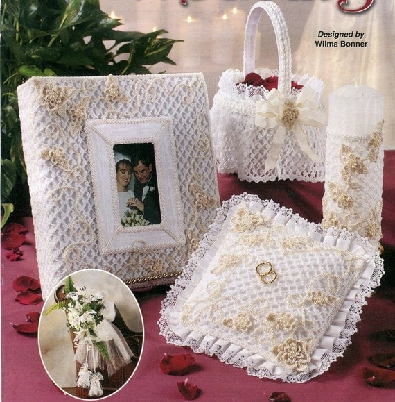 Free Crochet Patterns Annie s Attic : Annies Attic CROCHET FAIRYTALE WEDDING Pattern Book