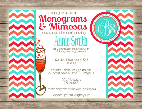 Mimosa Brunch Invitations with best invitation ideas