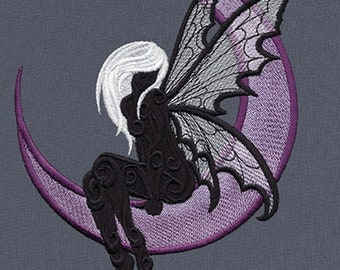 Dark Fae fleece blanket