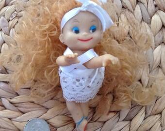 Vintage Miniature Ballerina Doll