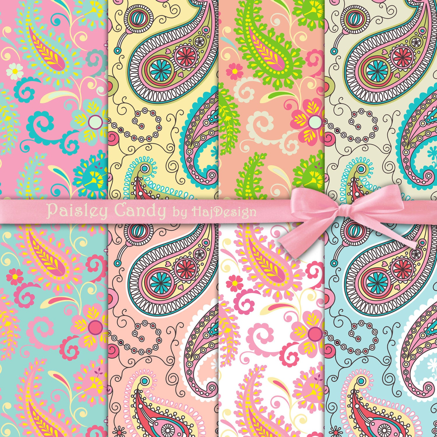 Scrapbook paper designs to print - This Is A Digital File