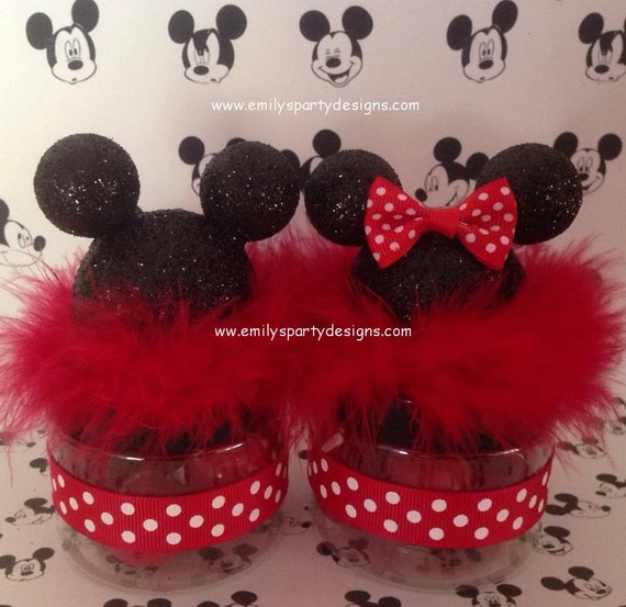 Recuerdo de Minnie Mouse or Mickey Mouse por designsbyemilys