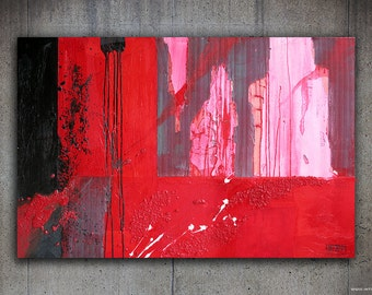 Slaughterhouse-the original modern Painting, oil painting on canvas for home decor and Office.