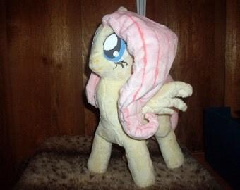 "Handmade ""My Little Pony"" Fluttershy Plush"