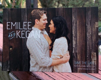 Wedding Save the Date Postcards/Cards or Magnet