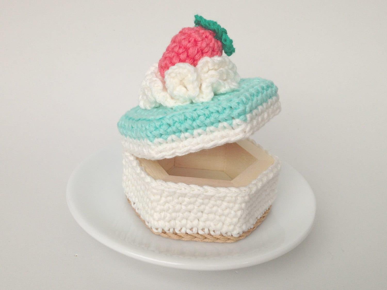 Box Crochet Cakes Crochet Cupcakes Knit Cakes Knit Food