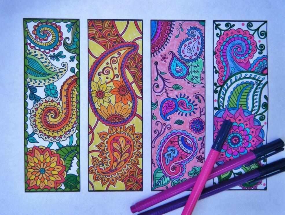 Zentangle Bookmarks THREE Sets