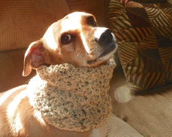 Dog Cowl Oatmeal Neck Warmers