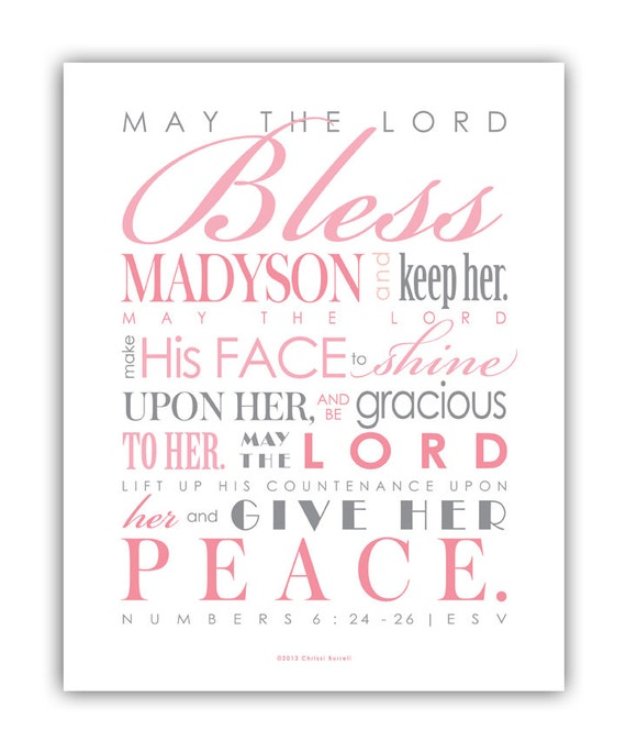A Meaningful Baptism Gift Idea: Baptism Gift For Girls / First Communion Gift Digital File