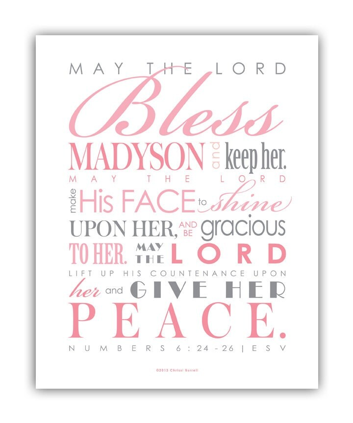 Baptism Gift for girls / First Communion Gift Digital File