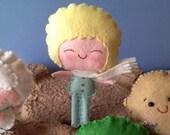 Tiny Little Prince felt dolls