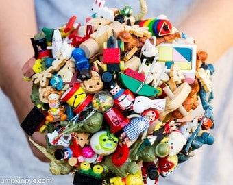Toy bouquet alternative bouquet