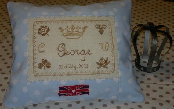 Baby Cambridge Souvenir Cross Stitch Chart