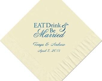 Beverage Napkins~100 Wedding