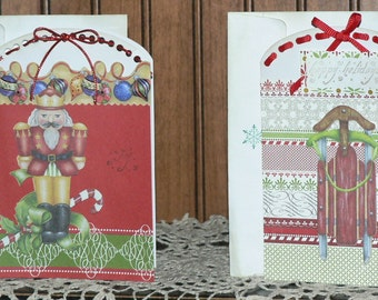 Christmas Notecards, Christmas Notes, Holiday Notecards, Christmas cards