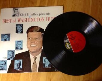 Vintage Political - 1960 Best of Washington Humor LP