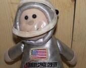 Kennedy Space Center Stuffed Astronaut Doll