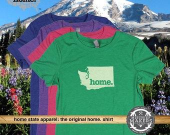 Washington Home. shirt- Womens Red Green Royal Pink Purple