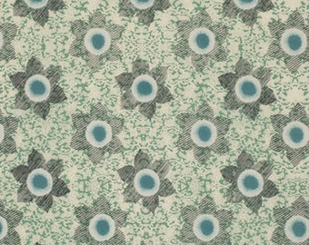 Ty Pennington Fabric - Impressions Floral in Slate
