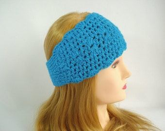 Winter headband Crochet headband ear warmer Crochet headband headwrap Women crochet head band Wide wool earwarmer headband Crochet head wrap
