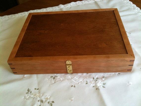 Knitting Needle Storage Box : Knitting needle box treasure letter storage