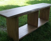 Bench / Farmhouse Bench / Benches / Entryway Bench / Rustic Bench / Wooden Bench  / Storage Bench / Shoe Bench