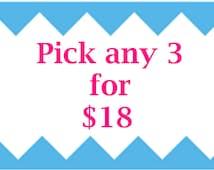3 nonslip headbands your choice