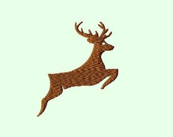 Embroidery pattern - deer 4